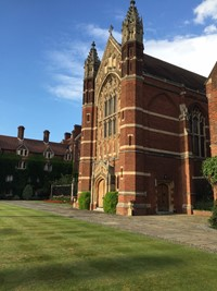 Wedding reception at Selwyn College, Cambridge