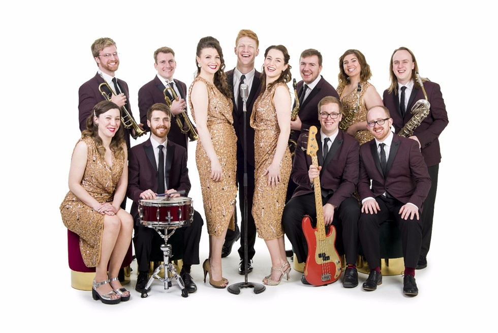 Down for the Count - find out about the UK's top swing and soul function band for weddings