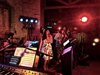 Live wedding band at Merriscourt, Oxfordshire