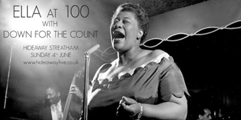 Ella at 100 - live at Hideaway Streatham with big band Down for the Count