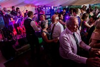 Swing and soul band performing live music for a wedding reception in Worcestershire