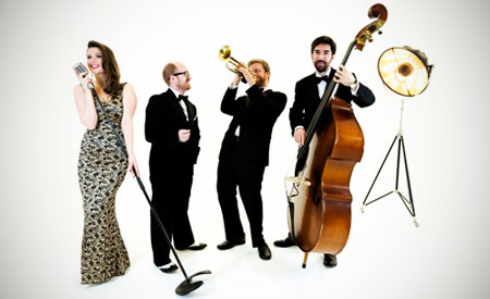 Hollywood Jazz Band - glamorous band to hire playing music from the golden era of stage and screen