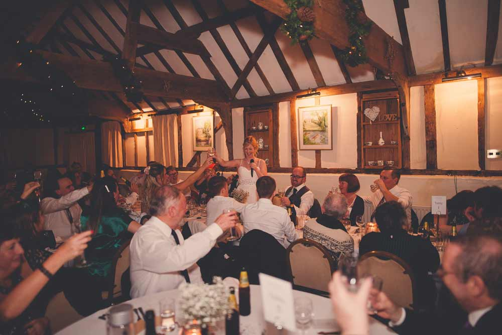 Wedding meal at the Reid Rooms, Essex